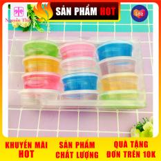 1 hộp 12 hủ chất nhờn ma quái Slime ✓Vui nhộn ✓Giá rẻ ✓Chất nhờn má quái ✓ Nguyễn Thùy Store