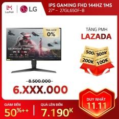 [TRẢ GÓP 0%] Màn hình máy tính LG IPS Gaming FHD (1920×1080) 144Hz 1ms 27 inches l 27GL650F-B | HÀNG CHÍNH HÃNG