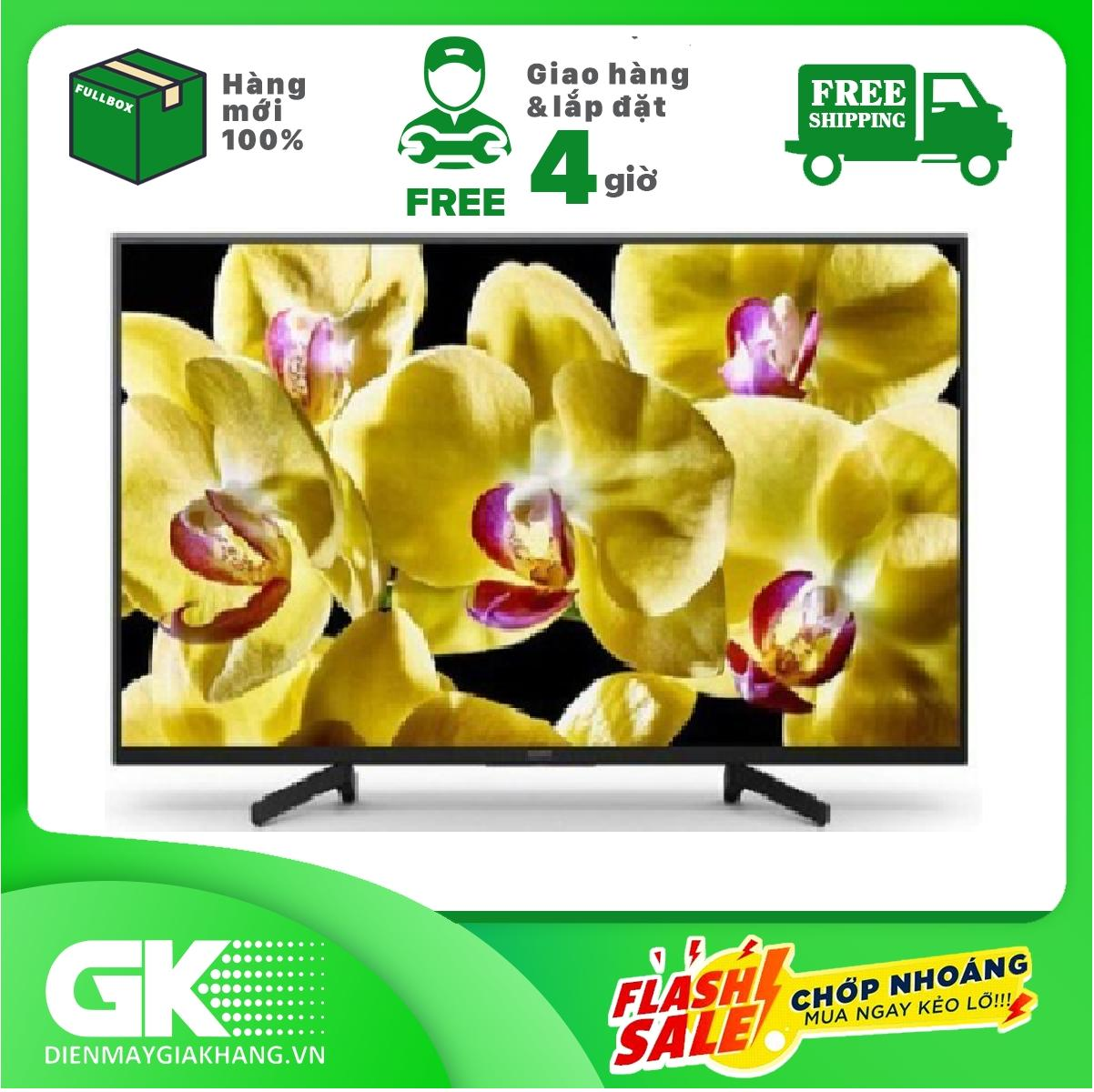 Smart Tivi Android Sony 4K 43 inch KD-43X8000G