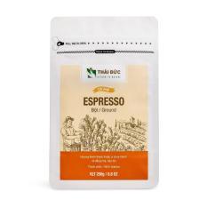 Thái Đức Coffee – Cafe rang xay Espresso 250g – Cà phê sạch nguyên chất 100%