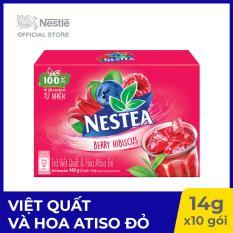 Trà Nestea Việt Quất và Hoa Atiso Đỏ – 10 gói x 14g