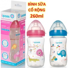 Bình Sữa Cổ Rộng Upass 160m-260ml Thái Lan