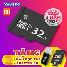 [Bảo hành 5 năm] Thẻ Nhớ 32gb Microsd class 10 – 32G chuyên dụng cho camera Yoosee samsung xiaomi và điện thoại thông minh android