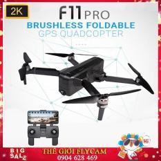 [Camera 2K] Flycam SJRC F11 PRO phiên bản hoàn hảo nâng cấp của SJRC F11 – Bay 25 Phút – 2 GPS – Khoảng cách điều khiển 1.2KM – Động cơ không chổi than