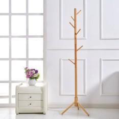 Cây treo quần áo bằng gỗ 3 chân- Cây treo đồ bằng gỗ tiện lợi, sang trọng, hiện đại