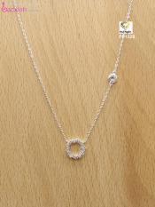 Bộ dây chuyền liền mặt trang sức bạc Ý S925 Bạc Xinh – Huyền thoại biển xanh PP1528
