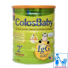 Sữa Bột VitaDairy ColosBaby 2+ Hộp 800g (Bổ sung kháng thể IgG 600+ tự nhiên từ sữa non; Cho trẻ 2 tuổi)