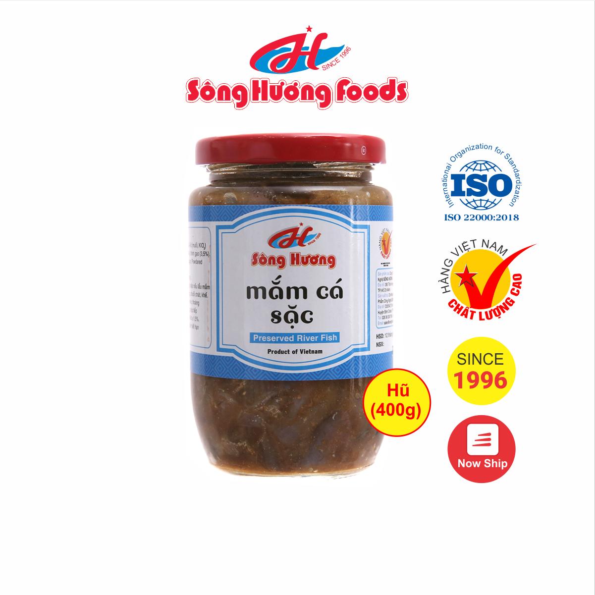 Mắm Cá Sặc Sông Hương Foods Hũ 400g