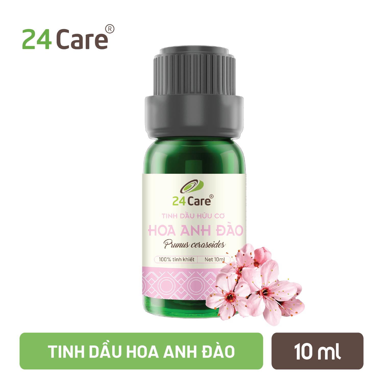 Tinh dầu thiên nhiên nguyên chất 24care – Đa dạng mùi, tốt cho sức khỏe – Dung tích 10ml