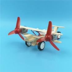 Đồ chơi giáo dục theo phương pháp stem steam – Bộ lắp ghép máy bay bằng gỗ.