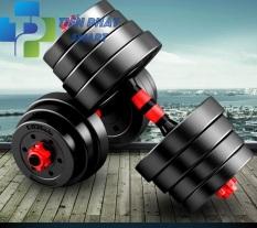 [Hàng Nhập Khẩu ]-Bộ Tạ Tay Đa Năng10kg/20kg/30kg/40kg Kết Hợp Tạ Đơn Và Tạ Đẩy -Tienphatsmart