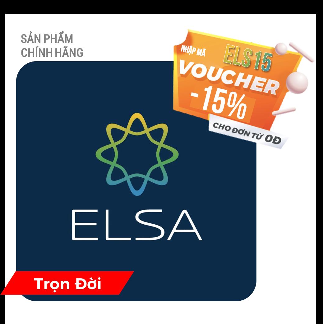 ELSA SPEAK English Pro – TRỌN ĐỜI – Phần mềm học nói tiếng Anh bản xứ