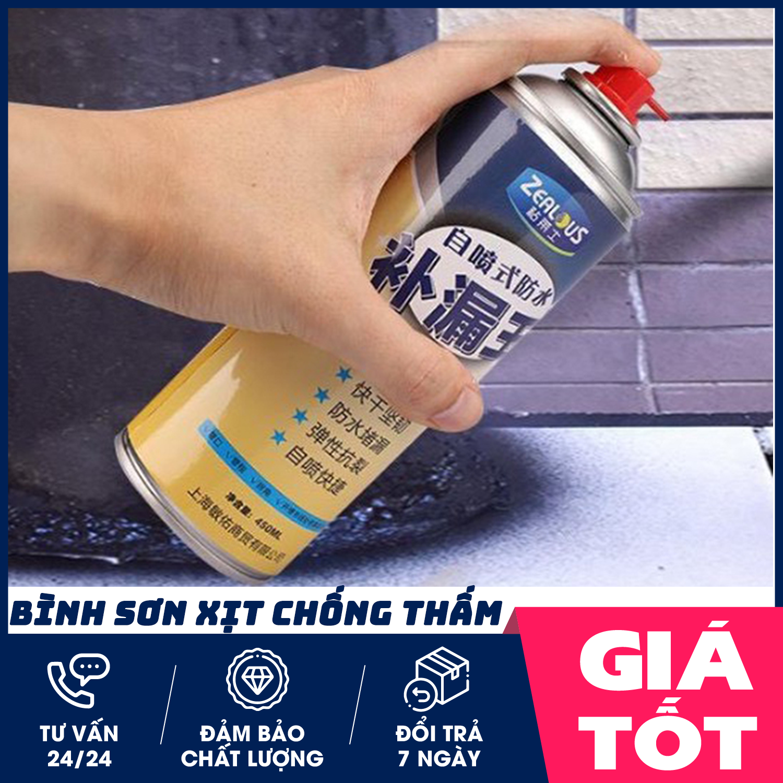 Bình sơn xịt chống thấm đa năng, sơn chống thấm, bình xịt chống thấm – dung tích 450 ml