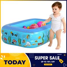 Bể bơi phao 2 tầng cho bé size 115x85x35cm – Bể bơi mini gia đình, be boi tre em, Bể bơi phao Cỡ lớn cho bé và gia đình – Bể bơi phao 3 tầng loại dày, bể bơi 1m8, be boi 180x140x50cm – BH UY TÍN 1 ĐỔI 1