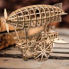 Mô hình gỗ Robotime Tàu bay LK702