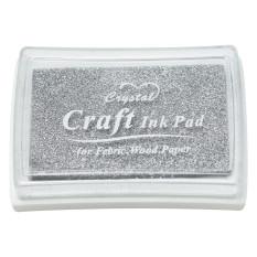 Hộp Mực Dấu Craft Ink Pad Màu Bạc