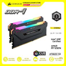 RAM PC CORSAIR VENGEANCE PRO RGB 16GB DDR4 2x8GB 3000MHz CMW16GX4M2D3000C16