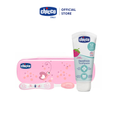 Bộ chăm sóc răng miệng Chicco 3 in 1