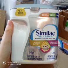 Sữa Bột Similac Pro-Advance Hmo Non-Gmo Cho Bé Từ 0-12 Tháng (Mẫu Mới) – 964g Mỹ (08/2022)