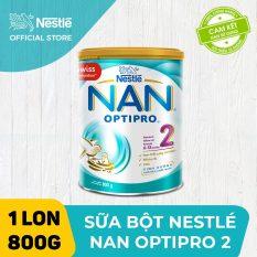 [FREESHIP 30K HCM&HN ĐƠN 399K] Sữa bột Nestle NAN OPTIPRO 2 800g cho trẻ từ 6-12 tháng tuổi giúp trẻ dễ tiêu hóa tăng cường sức đề kháng và tăng cân khỏe mạnh