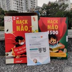 Hack Não 1500 – Sách học từ vựng tiếng Anh theo chủ đề bằng truyện chêm và âm thanh tương tự, tặng miễn phí App Hack Não Pro dạy phát âm chuẩn bản xứ (Step Up English)