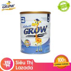 [Siêu thị Lazada] Sữa bột Abbott Grow 3 900g – hỗ trợ tiêu hóa phát triển hệ xương giúp bé tăng cân hỗ trợ hệ miễn dịch