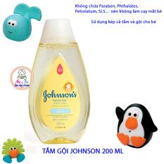 TẮM GỘI JOHNSON BABY KHÔNG CAY MẮT 200 ML