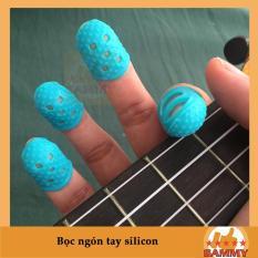 Phụ kiện bọc đầu ngón tay chơi Guitar 1 bộ gồm 4 cái cho 4 ngón giúp bảo vệ ngón tay, giảm đau, nhức khi phải luyện tập nhiều – Ukulele