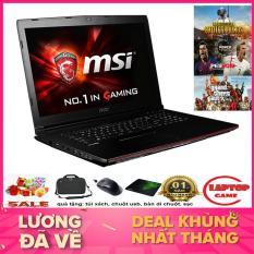 KHỦNG GAME MSI GP62 6QE Core i7-6700HQ/ 8G/ HDD 1TB/ VGA GTX 950M/ 15.6 inch Full HD 1920*1080, dòng gaming chuyên game đồ họa