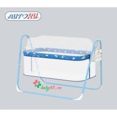 Nôi điện cao cấp đưa tự động Autoru Eco-18 cho bé giấc ngủ an toàn, bảo hành 12 tháng
