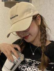 Mũ Lưỡi Trai Nam Nữ Cotton Mềm Thêu Chữ Phong Cách Hàn Quốc-Chuyên Sỉ Mũ Hà Nội