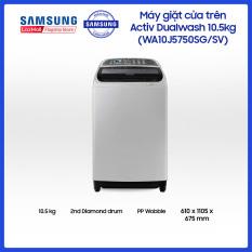 Máy giặt cửa trên Samsung Activ Dualwash 10.5kg – WA10J5750SG