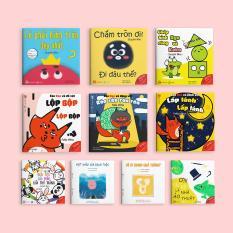Combo 10 cuốn Ehon Nhật Bản cho bé 0-6 tuổi thông minh, sáng tạo