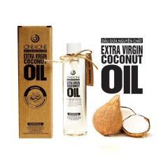 Dầu Dừa Nguyên Chất 100% One4One 150ml (nắp nhấn) – Extra Virgin Coconut Oil (press cap lid)