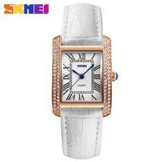 Đồng hồ nữ SKMEI 1281 mặt vuống dây da bền đẹp