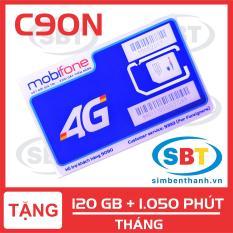 [GIÁ HỦY DIỆT] SIM 4G MobiFone HOT C90N 120GB /Tháng và Gọi nội mạng miễn phí