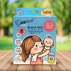 Túi trữ sữa Sunmum Thái Lan 250ml – Hộp 50 túi