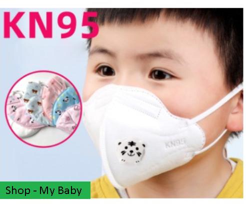 Khẩu trang trẻ em N95 – KN95 chống bụi mịn, khẩu trang y tế cho trẻ em kháng khuẩn
