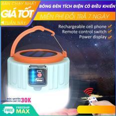 Bóng đèn tích điện, đèn tích điện năng lượng mặt trời có điểu khiển, đầu cắm USB, đèn led tích điện, đèn năng lượng mặt trời, có đầu cắm sạc, công suất 100W- Hỗ trợ đổi trả 7 ngày