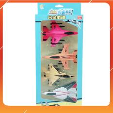 Đồ Chơi Noel – Bộ 4 Mô Hình Máy Bay Bằng Sắt – Đồ Chơi Trẻ Em Toy Mart