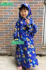 Áo mưa quây tròn không xẻ tả trẻ em Hưng Việt cao cấp