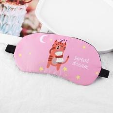 [HCM]Bịt Mắt Ngủ Cao Cấp Kèm Túi Nước Massage Họa Tiết Thú 3D Cực Cute Cho Mẹ Và Bé – TT CIRINO