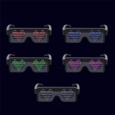 Mắt kính LED 8 chế độ sáng phù hợp cho tiệc đêm,Bar vũ trường tạo sự khác biệt
