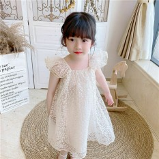 Váy nơ lưng cute cho bé yêu mặc đi chơi du lịch từ 8kg đến 22kg
