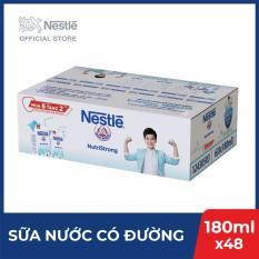 Thùng 48 hộp sữa nước Nestlé uống liền có đường – 12 lốc x 4 hộp x 180ml