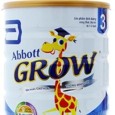 Sữa bột Abbott Grow 3 900g (bé 1-2 tuổi) – HSD luôn mới