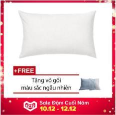 Gối ngủ (50x70cm) + tặng kèm vỏ gối cùng size, hàng VN cao cấp.