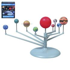 Qearl 1 Pcs Nine Planets Toys Educational Diy Explore Solar System Painting Toys
