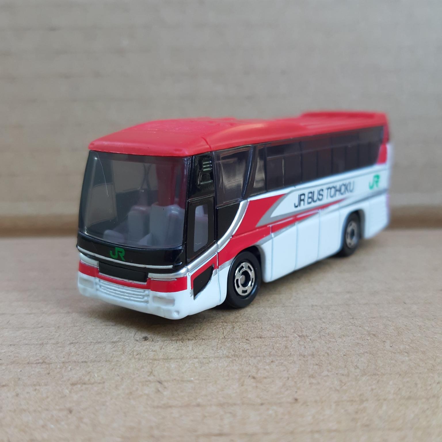 Xe mô hình Tomica – Xe Bus Hino S'Elega – JR Bus mà đỏ giá rẻ