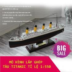 Lắp Ghép Lego, Đồ Chơi Kích Thích Trí Thông Minh, Bộ Mô Hình Lắp Ghép Tàu RSM Titanic, Chất Liệu An Toàn Không Độc Hại Cho Bé, Món Quà Ý Nghĩa Giúp Bé Sáng Tạo Nâng Cao Tư Duy
